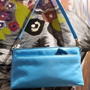 Talbots Bags - Leather blue Talbots bag